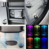 Insignia Platinum 800mm x 800mm Quadrant Steam Shower Cabin Customise Frame